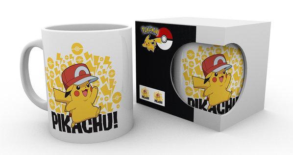 POKEMON - Mug - 300 ml - Ash Hat Pikachu_1