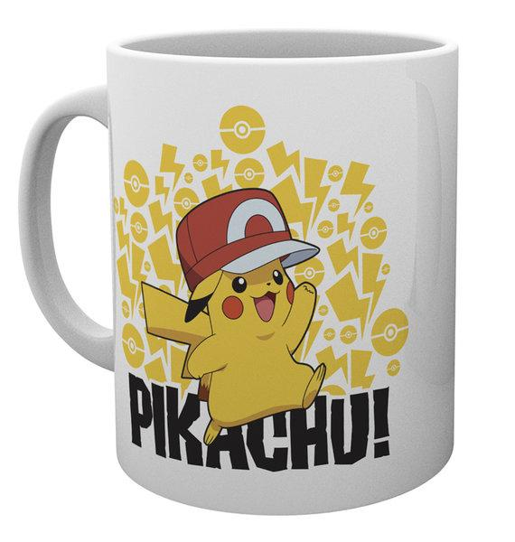 POKEMON - Mug - 300 ml - Ash Hat Pikachu_3