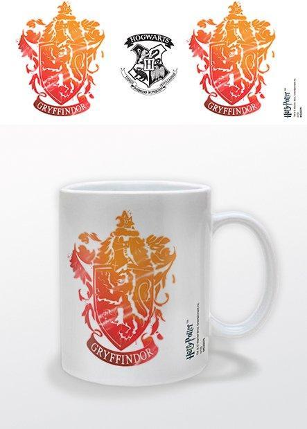 HARRY POTTER - Mug - 300 ml - Gryffindor Stencil