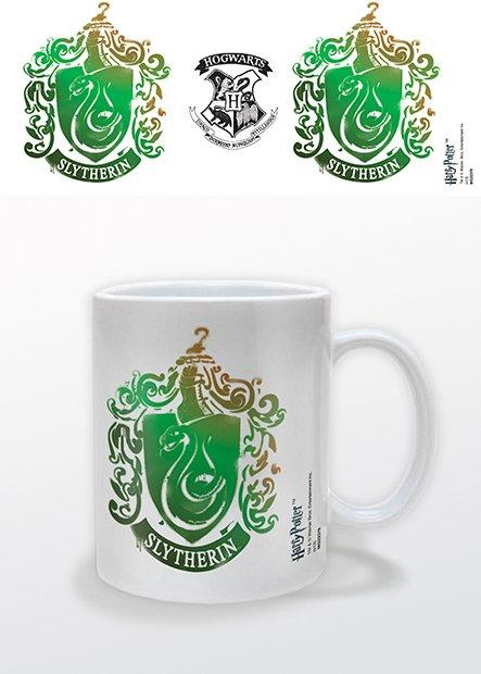 HARRY POTTER - Mug - 300 ml - Slytherin Stencil