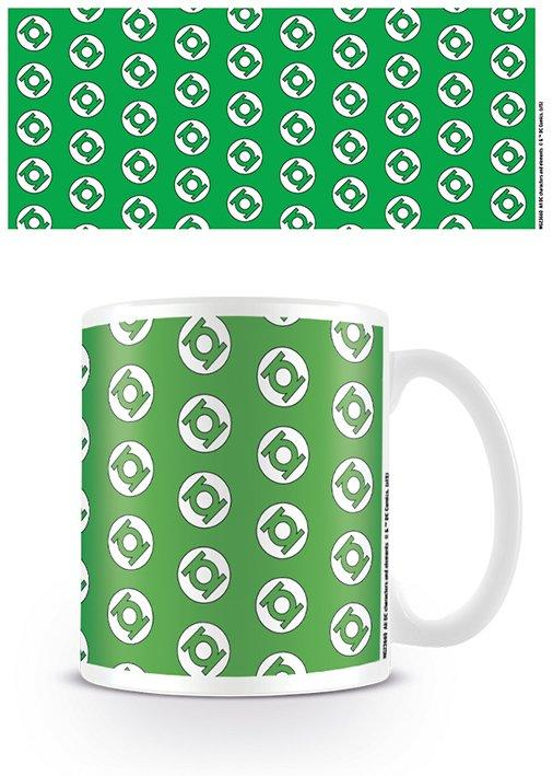 DC ORIGINALS - Mug - 300 ml - Green Lantern Logo Pattern