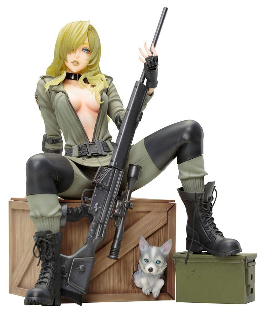 METAL GEAR SOLID - Sniper Wolf Bishoujo Statue - 19cm