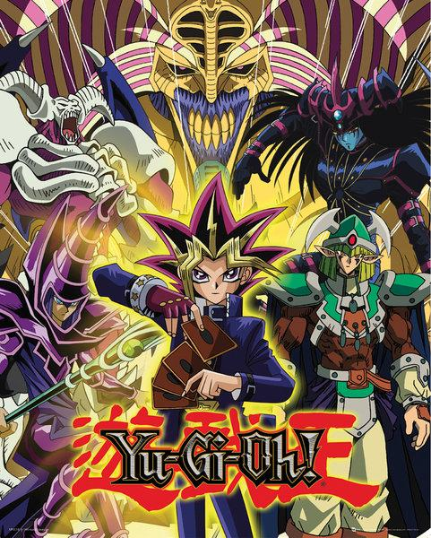 YU-GI-HO - Mini Poster 40X50 - Yugi and Monsters