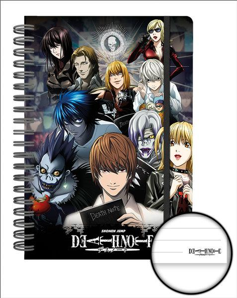 DEATH NOTE - Notebook A5 - Collage