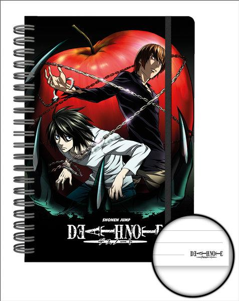 DEATH NOTE - Notebook A5 - Apple