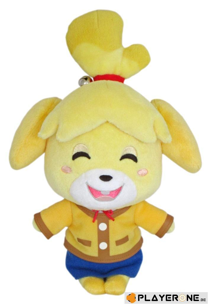 NINTENDO - ANIMAL CROSSING - Peluche Smiling Isabelle 15 Cm