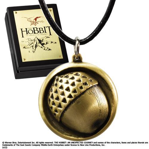 THE HOBBIT - Pendentif de Bilbo cordon Cuir