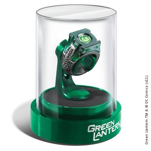 GREEN LANTERN - Anneau et Support