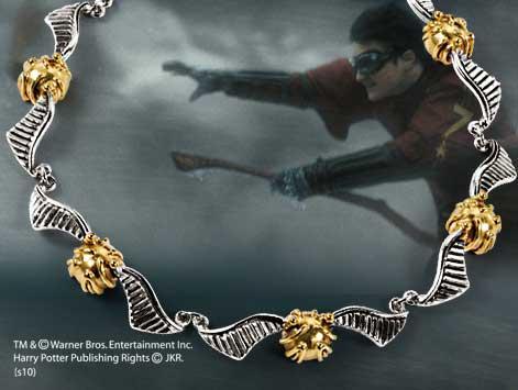 HARRY POTTER - Bracelet Vif d'Or