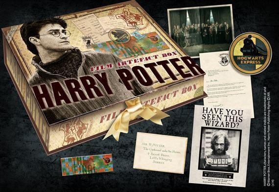 HARRY POTTER - Boite D'Artefacts Harry Potter (UK)_2