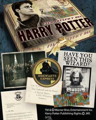 HARRY POTTER - Boite D'Artefacts Harry Potter (UK)_3