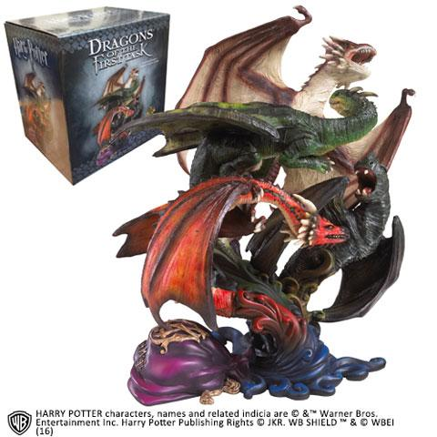 HARRY POTTER - Sculpture des Dragons de la Première Tâche - 26cm