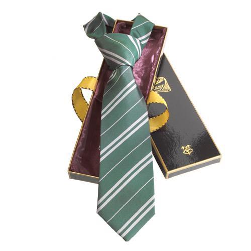 HARRY POTTER - Cravate - Serpentard - 100% Soie