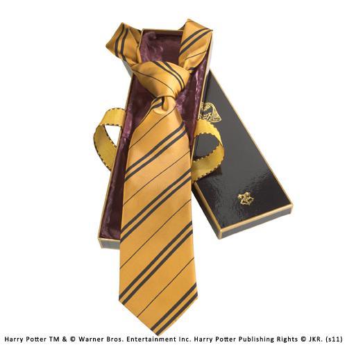 HARRY POTTER - Cravate - Poufsouffle - 100% Soie
