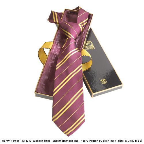 HARRY POTTER - Cravate - Gryffondor - 100% Soie