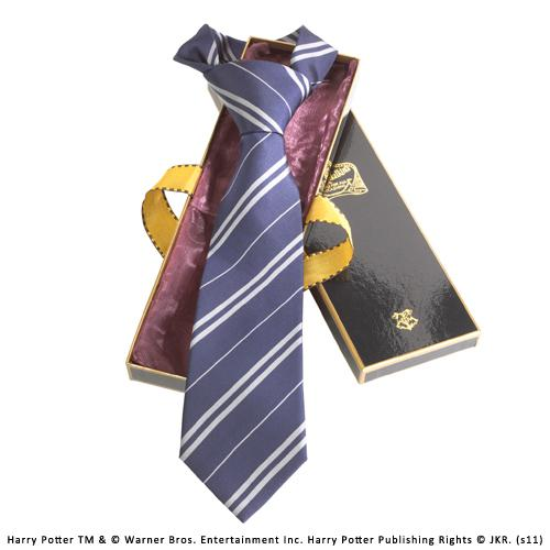 HARRY POTTER - Cravate - Serdaigle - 100% Soie