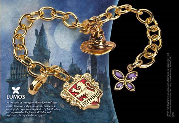 HARRY POTTER - Bracelet Charms - Lumos Gryffondor
