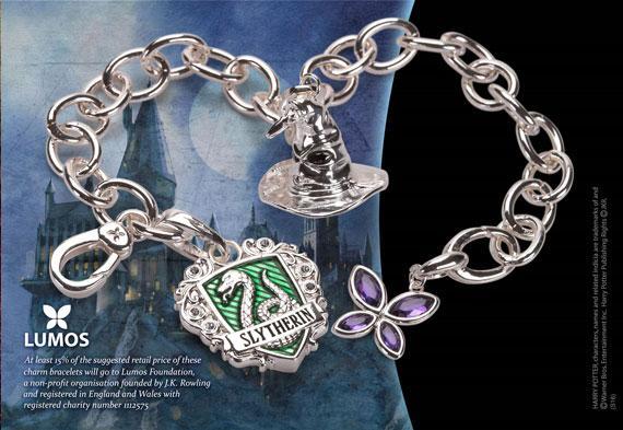 HARRY POTTER - Bracelet Charms - Lumos Serpentard