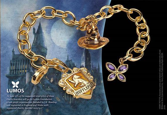 HARRY POTTER - Bracelet Charms - Lumos Poufsouffle