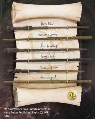 HARRY POTTER - Collection de Baguettes de L'armée de Dumbledore