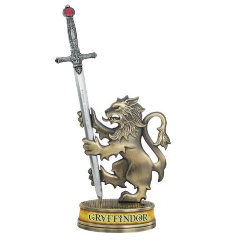 HARRY POTTER - Ouvre-Lettres - Epée de Gryffondor + Support - 23cm
