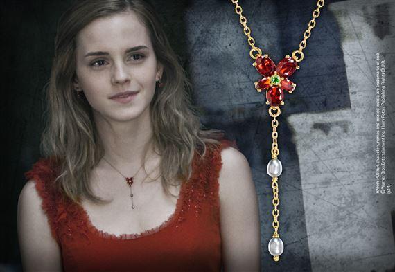 HARRY POTTER - Collier Cristal Rouge d'Hermione