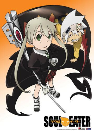 SOUL EATER - Wallscroll 80X110 - Maka and Soul