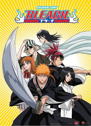 BLEACH - Wallscroll 80X110 - Ichigo Team