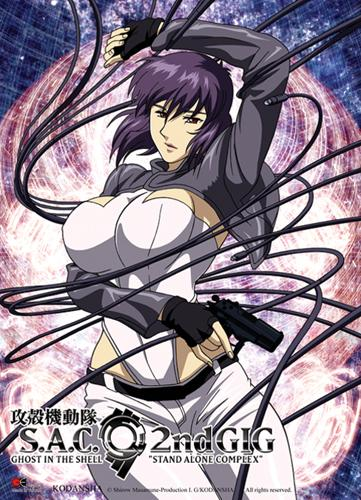 GHOST IN THE SHELL - Wallscroll 80X110 - Makoto Coiled
