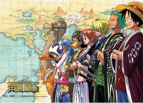 ONE PIECE - Wallscroll 112x84 - Crew