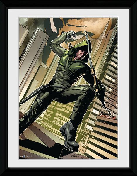 ARROW - Collector Print 30X40 - Cover Green