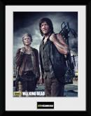 THE WALKING DEAD - Collector Print 30X40 - Carol and Daryl