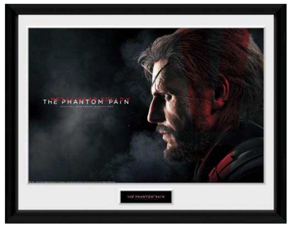 METAL GEAR SOLID 5 - Collector Print 30X40 - Snake