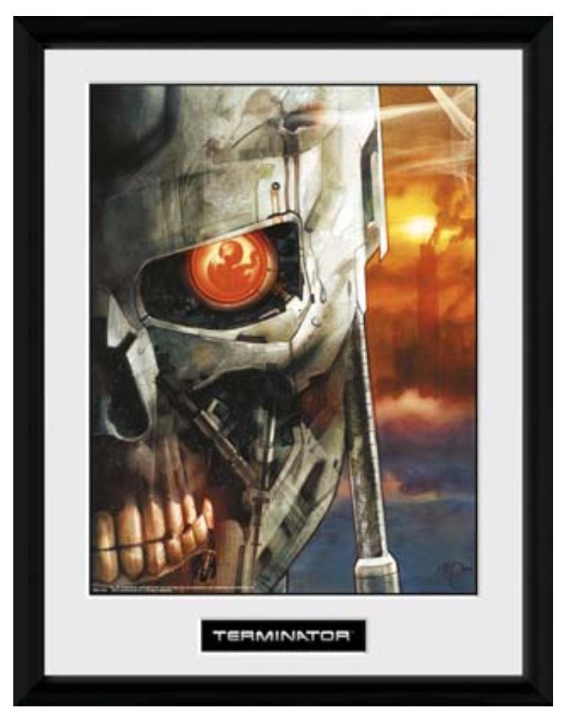 TERMINATOR - Collector Print 30X40 - Terminator 2 Comic 2