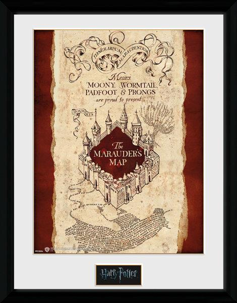HARRY POTTER - Collector Print 30X40 - Marauders Map