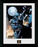 BATMAN - Collector Print 30X40 - Batman Moonlit Kiss