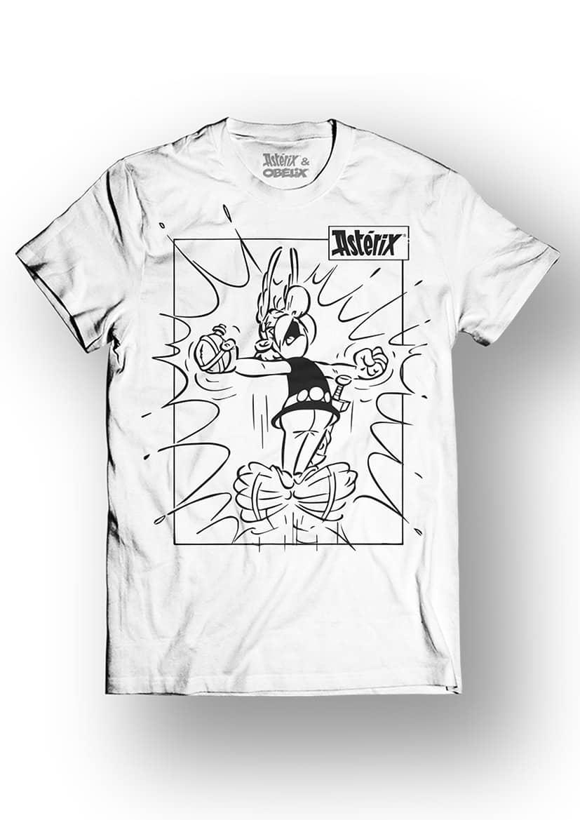 ASTERIX & OBELIX - T-Shirt - Power - White (L)