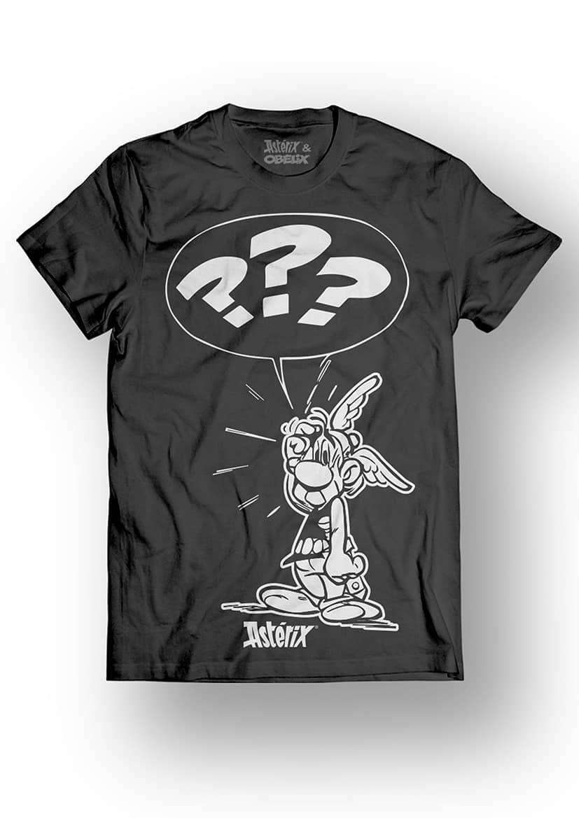 ASTERIX & OBELIX - T-Shirt - What ??? - Black (L)