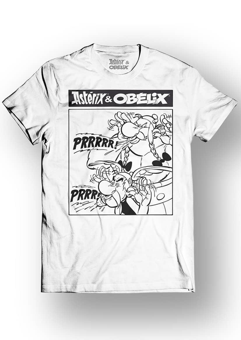 ASTERIX & OBELIX - T-Shirt - Prrrr - White (L)