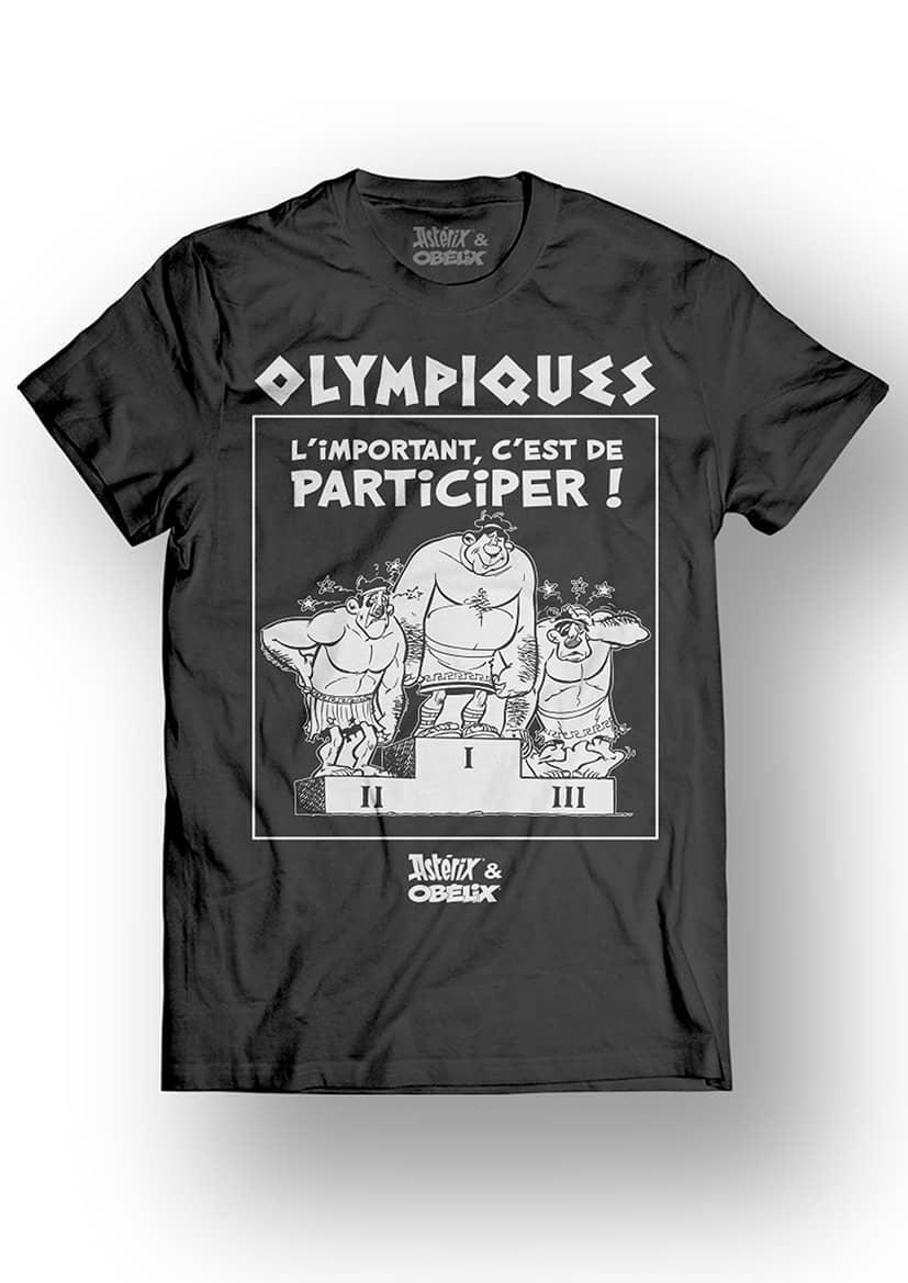 ASTERIX & OBELIX - T-Shirt - Olympiques - Black (L)