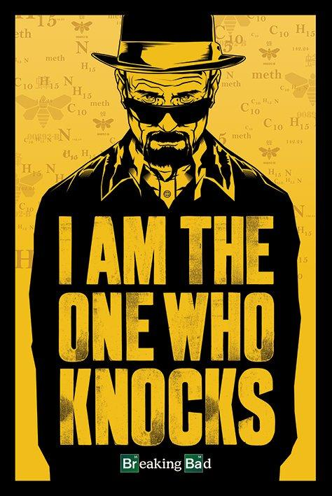 BREAKING BAD - Poster 61X91 - I Am The One Who Knocks