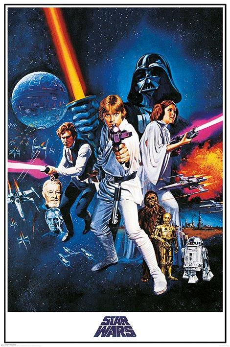 STAR WARS - Poster 61X91 - A New Hope