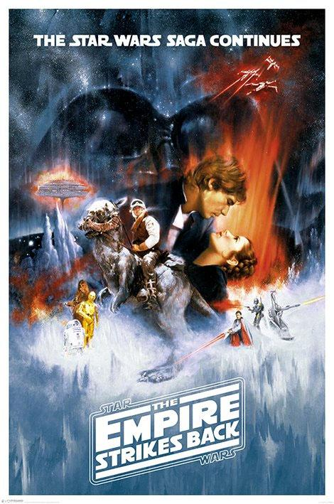 STAR WARS - Poster 61X91 - The Empire Strikes Back