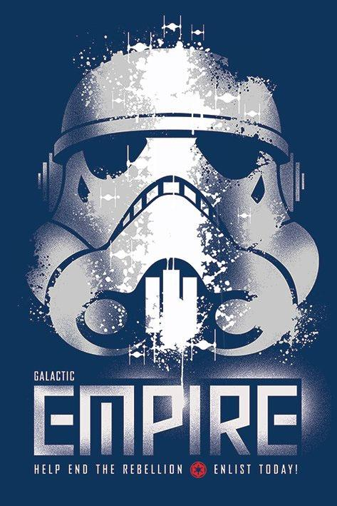 STAR WARS - Poster 61X91 - Galactic Empire