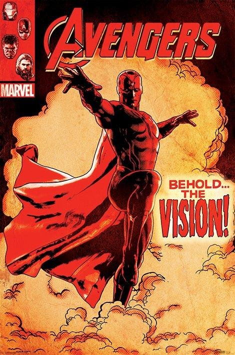 AVENGERS - Poster 61X91 - Age of Ultron Behold the Vision_2