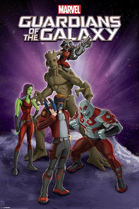GUARDIANS OF THE GALAXY - Poster 61X91 - Group