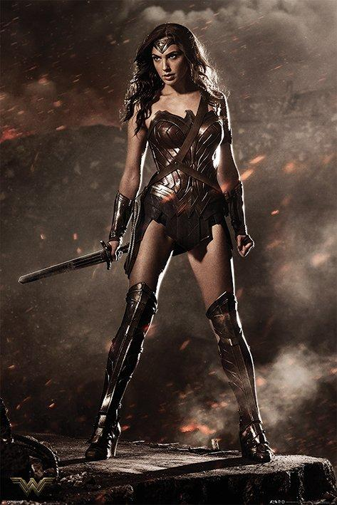 BATMAN VS SUPERMAN - Poster 61X91 - Wonder Woman
