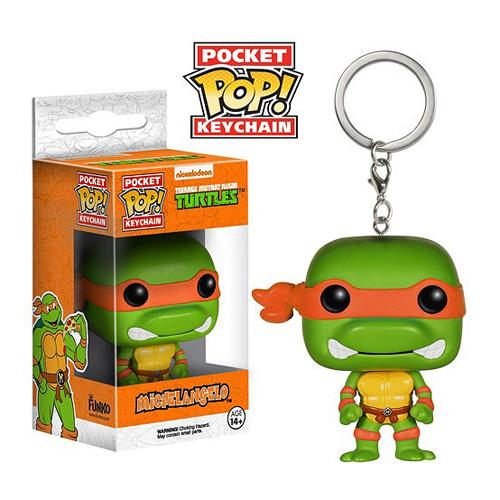 Pocket Pop Keychains : TMNT - Michelangelo