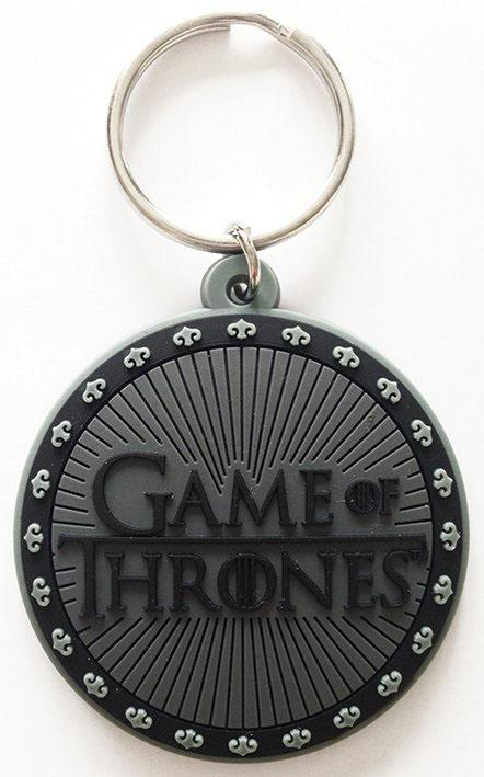GAME OF THRONES - Porte-Clés Caoutchouc - Logo