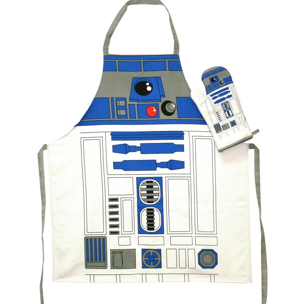 STAR WARS - Tablier et Gant - R2-D2 (PLASTIC BOX)